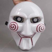 10 Máscaras Jogos Mortais Jigsaw Saw Fantasia Boneco Billy
