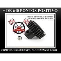 Savage Xs Pinhão Do Motor 28dentes 48 Pit Original Novo