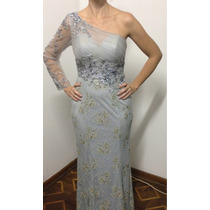 Vestido Longo Madrinha Bordado Formatura Luxo