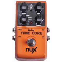 Pedal De Guitarra Nux Time Core Digital Delay C Frete Grátis