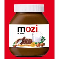 Rótulo / Adesivo / Etiqueta Para Nutella Personalizada