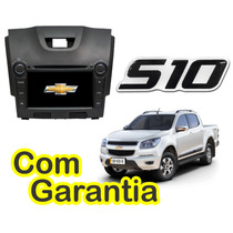 Kit Central Multimidia Nova S10 + Gps + Dvd + Cam + Tv + Gar