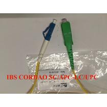 10xcordão Óptica Sc/apc X Lc/upc Sm 3 M Fibra 2.0mm/10 Peças