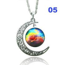 Colar Místico Prata - Lua 5