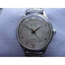 Relógio De Pulso Classic De Luxe 17 Rubis Incabloc Original