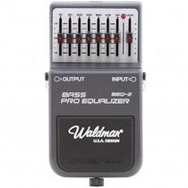 Pedal Equalizador De Baixo Beq2 Waldman 3226