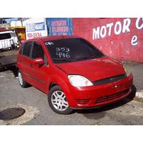 Sucata Fiesta 1.6 Para Peças Motor Cambio = Ecosport Lataria