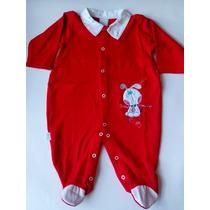 Macacão Bebê Bicho Molhado, Macacão Longo Malha Inglesa