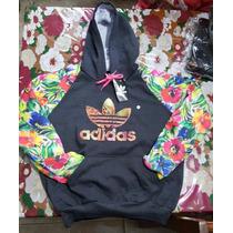 Blusa Adidas Florida Floral Agasalho Feminino Frete Gratis