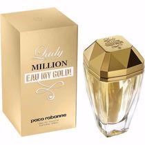 Perfume Lady Million Eau My Gold! Paco Rabanne Feminino 80ml
