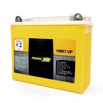 Bateria Moto Pioneiro Mbr7-vp Strada Nx 200 Xr 200 Cbx 200