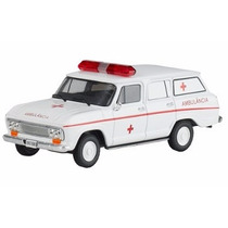 Coleção Veículos Serviço 02 Chevrolet Veraneio Ambulância