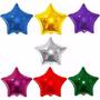 Balão Metalizado Estrela 22cm - Kit C/ 10 Balões