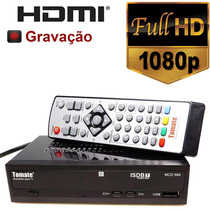 Conversor Tv Digital ( H D T V ) - Full Hd / Hdmi / Gravador