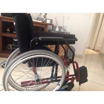 Cadeira De Rodas Jaguaribe Até 80kg