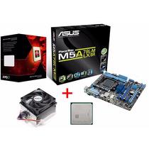 Kit Asus M5a78l-m Lx/br Am3+ + Amd Fx 6300 95w 6 Núcleos