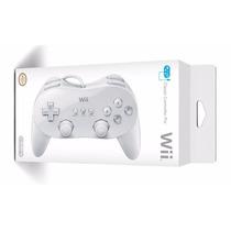 Controle Wii Classic Pro Joystick Wii Preto. Lacrado