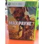 Jogo Max Payne 3 Xbox 360 Cd Duplo Original