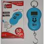 Balança Digital De Mão Portátil Gancho P/ Mala Pesca 50 Kgs
