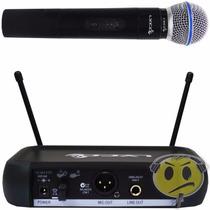Microfone Sem Fio Lyco Vh 102 De Mão Vhf P R O M O Ç Ã O