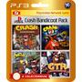 Crash Bandicoot 1 2 3 Racing (código Ps3)