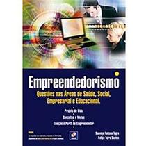 Livro Empreendedorismo - Questões Nas Áreas De Saúde, Social