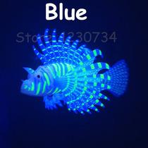 Decoração De Aquário Peixe Leão Materiais De Sílica