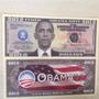 L-720- 2 Cédula De U$ Dólares Barack Obama Usa Fantasia 2012