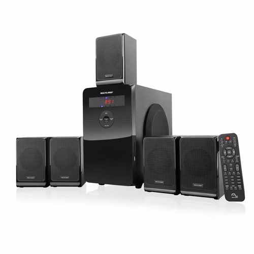 Home Theater Multilaser 5.1 80w Rms - Sp177