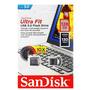 Mini Pendrive Sandisk Ultra Fit Z43 3.0 128gb Original
