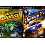 Juiced 1 E 2 Ps2 (kit 2 Jogos Playstation 2) Corrida