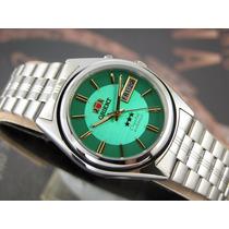Relógio Orient Automático Clássico Aço 3 Estrelas Original