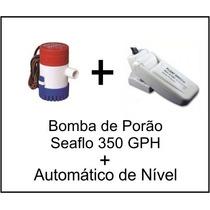 Bomba De Porão Seaflo 350 Gpm + Automático