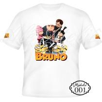 Camiseta Blusa Personalizada Meu Malvado Favorito Minions