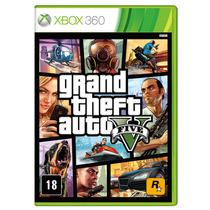 Jogo Grand Theft Auto V (gta5) Xbox 360 - Rockstar Games