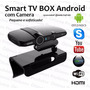Kit Smart Tv Box Wifi Full Hd Hdmi Air Mouse+ Mini Teclado
