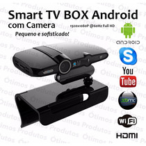 Kit Smart Tv Box Wifi Full Hd Hdmi Air Mouse+ Mini Teclado