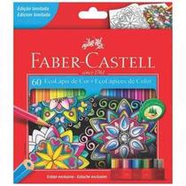 Lápis De Cor 60 Cores Faber Castell Edição Limitada! Caixa