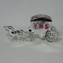 Mini Carruagem Lembrancinha Princesas - 10 Unidades