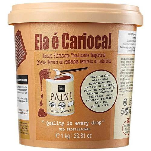 Lola Cosmetics Ela É Carioca Máscara Tonalizante 1kg Blz