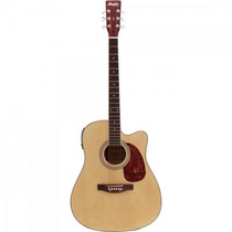 Violão Eletroacústico Folk Aço Md-18 Natural Memphis By