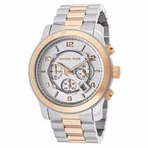 Lindo Relógio Michael Kors Mk8176 Prata Dourado Lançamento