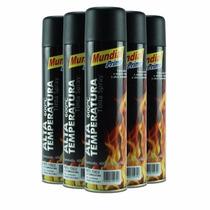 Kit Tinta Spray Alta Temperatura Mundial Prime - 6 Latas