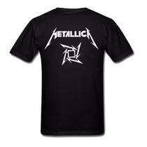 Camiseta Metallica James Hetfield - Camisa De Banda Rock