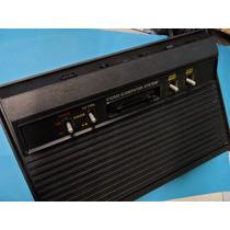 Atari 2600 Completo Com 4 Jogos 2 Joys Adaptados