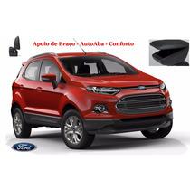 Apoio De Braço Ford Nova Ecosport- Preto E Grafite - Autoaba