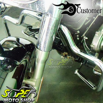 Protetor Motor Mata Cachorro Customer Moustache Fat Boy 06..