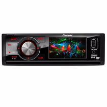 Toca Cd Dvd Pioneer Dvh-7680av Tela 3 Polegadas Usb Frontal
