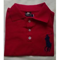 Camisa Feminina Polo Em Malha Piquet Promoção