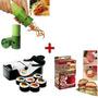 Máquina Sushi Roll + Maquina Hamburguer Stufz + Descascador